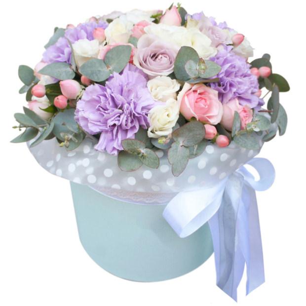 "Цветы в коробке ""Балерина"""