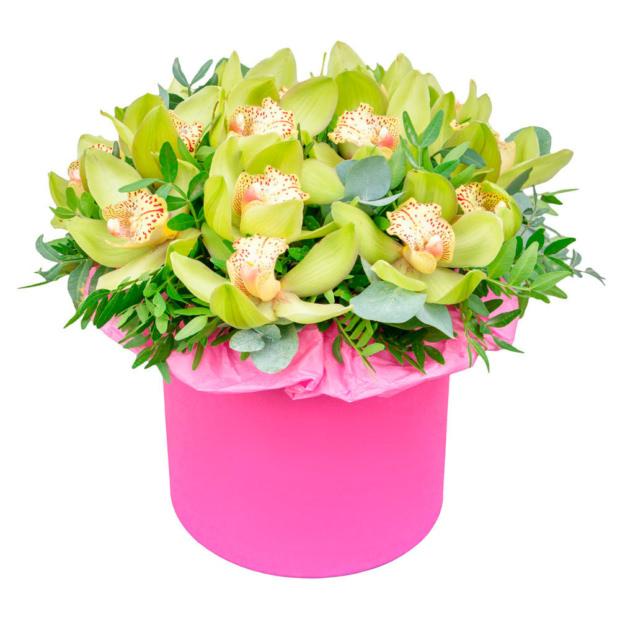 """Цветы в коробке """"Шепот весны"""""""