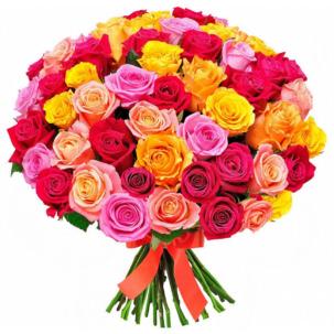 Розы Россия микс 5